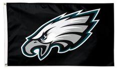 Philadelphia Eagles Flag 3x5 Black NFL