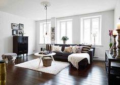 Những mẫu phòng khách đẹp phù hợp với các căn hộ 50m² - Ảnh 18.