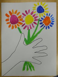 Mrs. T's First Grade Class: Picasso Flowers