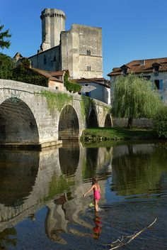 Bourdeilles, Aquitaine - France I wonder if Eleanor of Aquitaine was ever there
