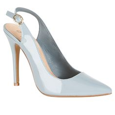 Another wonderful pair of Primark shoes - these pale blue slingback heels are summer perfection at £10!!
