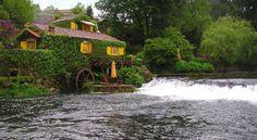 Casas Da Azenha, Rio Coura (Coura River) Rodetes, Vila Nova da Cerveira, Minho, Portugal