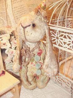 """Купить Кролик """"Банни"""" - кролик, заяц, заяц тедди, плюшевый заяц, плюшевый кролик"""