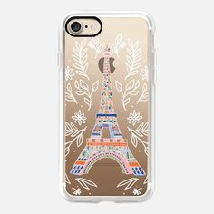 Eiffel Tower Spring Pink by EttaVee - Classic Grip Case