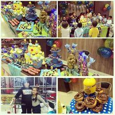 The Simpsons inspiration party, cumple n° 9 de #minenito