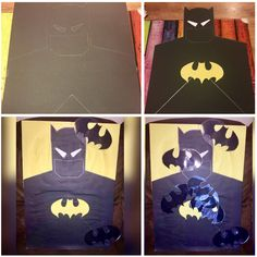 Pin the Bat on Batman, I've made this for the boys at my daughters 6th Birthday Party. A great party game to keep kids entertained at any occasion parties, weddings, events...