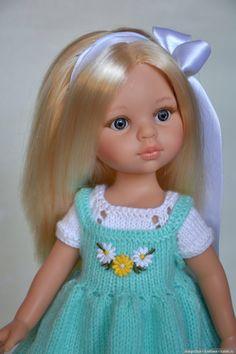 Добрый вечер, друзья! Вот скажите, как сойти с проторённого пути на новый, нехоженый. Всё вяжу-вяжу… А так хочется попробовать шить! Disney Dolls, Doll Crafts, Hobbies And Crafts, Doll Clothes, Harajuku, Knit Crochet, Flower Girl Dresses, Hair Beauty, Knitting
