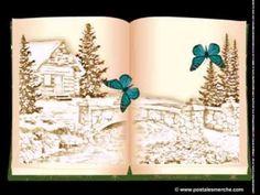 """Video Tarjeta de Felicitación """"Libro Virtual Navideño Animado"""""""