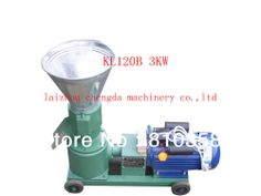 KL120B 220V Single phase 50hz wood pellet mill and feed pellet mill pellet making machine with the same machine $1,200.00