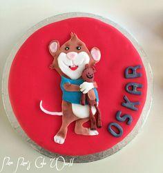 Zucker! Leo Lausemaus Torte. Schoko-Marzipan Torte mit Frischkäse-Sahne Creme Füllung.