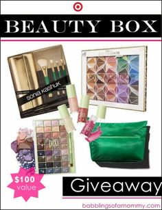 Beauty Box Giveaway via Babblings of a Mommy [$100 Value!!!] #giveaway #makeup