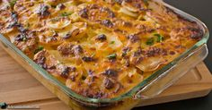 Scalloped potatoes are one of those side dishesthat's just so satisfying it'll leave you smacking your lips and digging in for more. Some people call it potatoes gratin and some call it scalloped potatoes – whatever you call it this is one spectacular side dish! I mean… it's creamy, cheesy, potato-ey, filling and soooo YUM! …