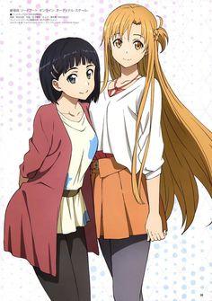 Yui and Asuna