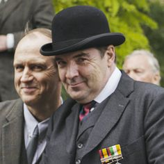 molesley and bates cheeky devils! Downton Abbey