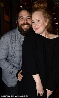 Personal and professional success: Adele has a son with partner Simon Konecki, with whom she attended the Lady Gaga concert earlier this mon...