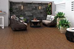 Terrazas - Aplicaciones - Hazlo con Cerámicos Home Decoracion, Exterior, Garden, Outdoor Decor, Balconies, Courtyards, Decks, House Decorations, Gardens