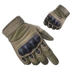 Freetoo Tactical Gloves Military Rubber Hard Knuckle Outdoor Tan Full Finger L 9 for sale online Mountain Bike Gloves, Mountain Bike Accessories, Cool Bike Accessories, Best Mountain Bikes, Mountain Biking, Cycling Equipment, Cycling Bikes, Survival Equipment, Survival Gear