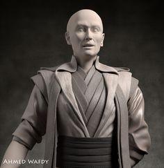 ArtStation - Doctor Strange Fan Art - The Ancient One , Ahmed Wafdy