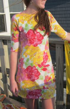 one yard knit dress