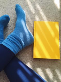 YELLOW AND BLUE | Tumblr