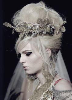 gaultier 2012 hair