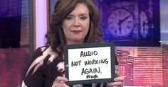 This Is The Hilarious Thing That Happens When The Sound Goes Out On Live TV