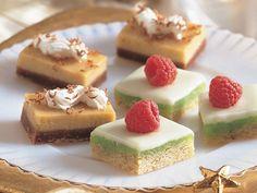 ST. PATRICK'S DAY (Desserts) - Irish Cream Bars Recipe