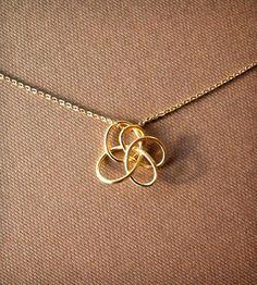 Petite Twist Necklace - Brass by Simple Twist Jewelry on Scoutmob Shoppe