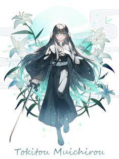 Tokitou Muichirou - Kimetsu no Yaiba - Image - Zerochan Anime Image Board Anime Angel, Anime Ai, Anime Demon, Manga Anime, Demon Slayer, Slayer Anime, Character Concept, Character Art, Gekkan Shoujo