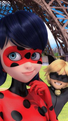 Get the best wallpaper of Ladybug and cat noir here, and get your device a free mobile apps for Ladybug Wallpaper. Les Miraculous, Miraculous Ladybug Fan Art, Meraculous Ladybug, Ladybug Comics, Ladybug Cakes, Ladybugs, Mlb Wallpaper, Disney Wallpaper, Animal Wallpaper