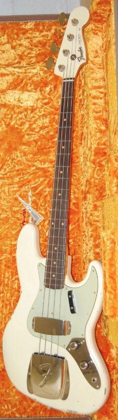 1960 Fender Custom Shop Jazz Bass Relic 2016