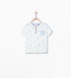 Pirate crocodile T-shirt-T-shirts-Baby boy (3 months - 3 years)-KIDS | ZARA United States