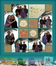 Photo Collage Created by Becky, Lea France designer using Digital Stained Glass.