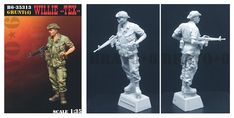 A single resin figure in 1/35 scale now available at highcalibreminiatures.com from BRavo 6. Click on the pic for more details and FREE worldwide shipping on all orders of $90 or more Vietnam War, Resin, Scale, Miniatures, Free, Collection, Dioramas, Figurine, Scale Model