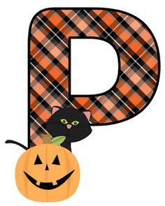 Halloween Letters, Halloween Ii, Halloween Clipart, Holidays Halloween, Halloween Pumpkins, Halloween Decorations, Happy Halloween, Alphabet Print, Monogram Alphabet