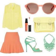 how to wear pastel colors | Rivet & Sway