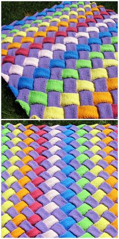 Entrelac gestrickte Babydecke Acne Accuracies Acne is the eruption o Baby Knitting Patterns, Knitting Stitches, Knitting Yarn, Hand Knitting, Crochet Patterns, Hat Patterns, Knitted Baby, Baby Blanket Crochet, Crochet Baby