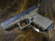 glock 19 gen 4 | Glock 19 Gen 4 Flat Dark Earth