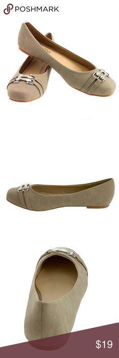 Tory Klein Women's Shoes Beige Fabric Pink Velvet Rubber Sole Flats Size 9