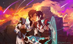 """""""Klance week Day 3: Heaven in Hell """" I'm gunna love you, like it's the end of the world ♫"""