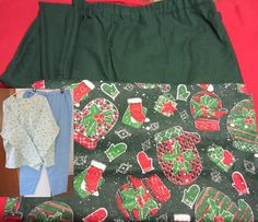 Christmas Pajama / Lounge Wear Set by PizzelwaddelsApparel on Etsy