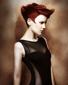 "2013 British Hairdressing Award Finalist collection ""Guardians"" by Daniel Granger for JOICO."