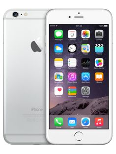 128GB Apple iPhone 6 Plus UNLOCKED GSM Silver 5.5 inches