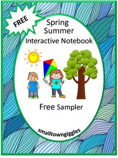 FREE: Free Spring Summer Interactive Notebook Cut and Paste Activities Sampler. With this Sampler you will receive two (2) Interactive Notebook pages from my Spring Summer Interactive Notebook Cut and Paste Activities packet.