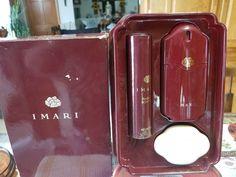 vtg AVON IMARI 1987 HOLIDAY TRIO GIFT SET-IB #Avon Perfume Sets, Vintage Perfume, Popcorn Maker, Fragrances, Avon, Holiday, Gifts, Ebay, Vacations