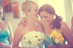 Pick bridesmaids who will help you enjoy your day more!