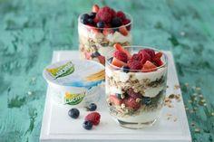 Zdravý snídaňový pohár s Lučinou