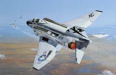 F-4J Phantom II, VF 96- 'Showtime 100' (Philip E. West)
