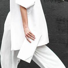 stashd (@stashdapp) || White on white on white - Swipe the look on the App @farfetch #VirtualWardrobe || Shop the latest trends on Stashd app: www.stashdapp.com/download/