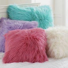 Decorative Pillows Pillow Covers Pbteen More Dekorative Kissen Kissenbezüge Pbteen More - Image Upload Services Cute Pillows, Diy Pillows, Throw Pillows, Throw Blankets, Pillow Ideas, Accent Pillows, Cute Cushions, Cushions To Make, Fluffy Rug
